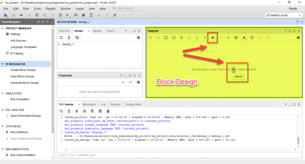 طراحی یک بلوک دیاگرام